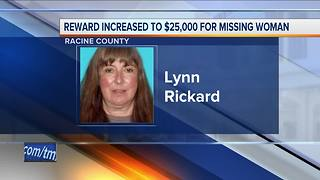 Family of missing Racine County woman increases reward