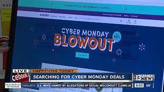 Looking for deals on Cyber Monday - Video