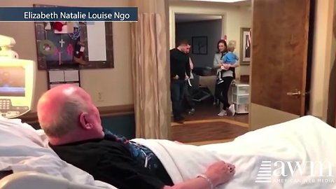 "Veteran's Dying Wish To See The New ""Star Wars"" Movie. Now Watch Who Walks In His Room"