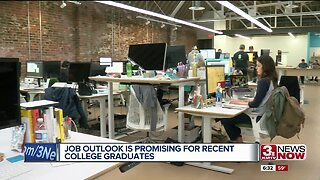 Job outlooks are promising for recent Omaha college graduates