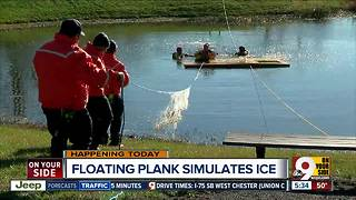 Loveland-Symmes fire crews training for ice rescues - Video