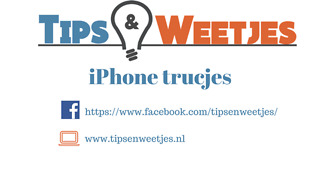 De handigste iPhone trucjes! The best iPhone hacks! - Video