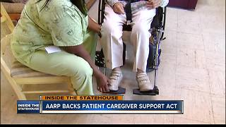 AARP advocates back Patient Caregiver Support Act - Video