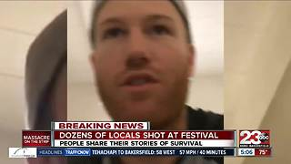 Dozens of Kern County locals shot at Route 91 Festival - Video
