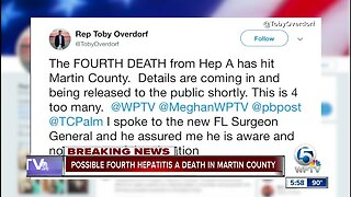 Possible 4th hepatitis A death in Martin County