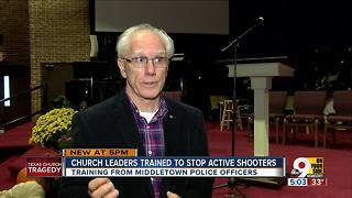 Middletown clergy train to deal with shootings - Video