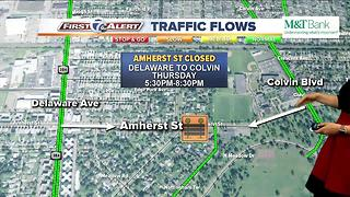 Traffic Closures for Corporate Challenge 061517 - Video