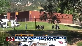 8-year-old special needs student dies in shooting - Video