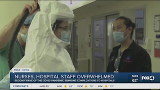 Healthcare workers overwhelmed