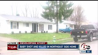 1-year-old shot and killed on Indy's northeast side - Video