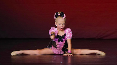 Sassy 5-year-old dancer proves she deserves 1st place