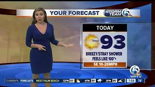 Thursday midmorning forecast - Video