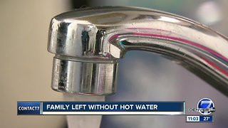 Lakewood family says apartment complex won't fix ongoing hot water issues