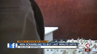 Last minute Christmas shopping boost local businesses sales