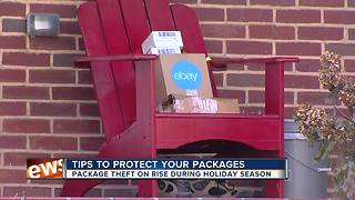 Tips to protect your package from theft this holiday season - Video