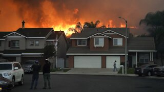 Fire Crews Protect Heavily-Populated Areas As California Fires Ease
