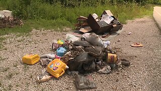 Illegal dumping in Swope Park concerns visitors