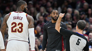 LeBron James Gets EJECTED for the Very FIRST Time in His Career! - Video