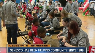 Genesco Hosts 6th Annual Shoe Giveaway - Video