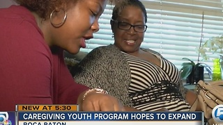 Caregiving Youth Program hopes to expand - Video