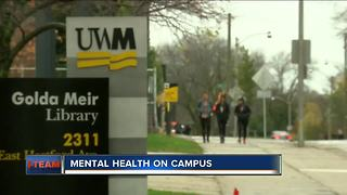 Campuses face mental health crisis - Video