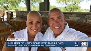 """Valley couple battling cancer together help others as """"cancer coaches"""""""