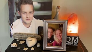 To honor their son's life, a family is paying it forward with birthday cards