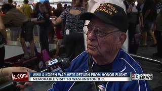 Local war veterans return from honor trip - Video