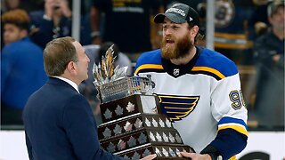 Ryan O'Reilly wins Stanley Cup playoffs MVP