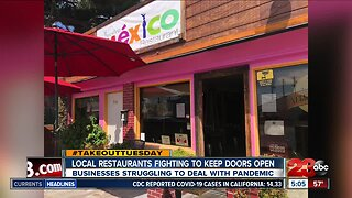 Local restaurants are fighting to keep their doors open