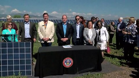 Polis unveils more detail about renewable energy and climate action plan