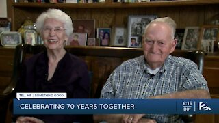Tell Me Something Good: Green Country couple celebrates 70 years of marriage
