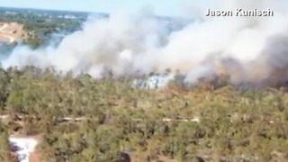 Forest Service battles several wildfires