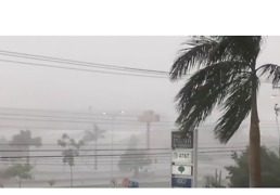 Tropical Storm Franklin Passes Through Mexico's Yucatan Peninsula - Video