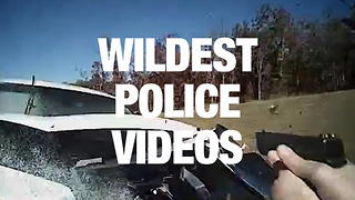Police Cam Footage Shows the Unbelievable Things Officers Experience - Video
