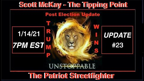 1.14.21 Patriot Streetfigther POST ELECTION UPDATE #23 MILIntel Indicating Imminent Nation Lockdown