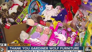 18th annual It's Kindertime Holiday Toy Drive - Video