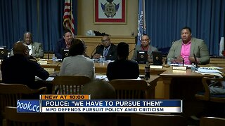 Fire and Police Commission makes changes to city's pursuit policy