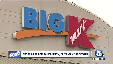 These are the local Kmart and Sears stores that are closing in Ohio