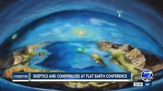 Conspiracy theories abound as flat-Earth believers convene in Denver