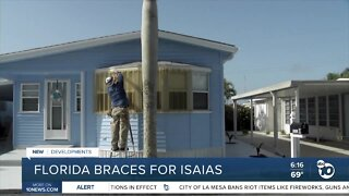 Florida braces for Hurricane Isaias