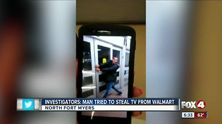 Walmart thief North Fort Myers