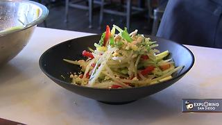Exploring San Diego: West Pac Noodle Bar gives salad a fishy take - Video