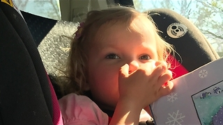 Two Little Sisters Argue Over Who Farted - Video
