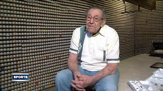 Franklin man shows off impressive collection of 15,000 golf balls