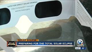 Preparing for the total solar eclipse - Video