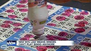Minors no longer allowed to play bingo - Video