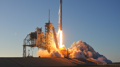 Launch of Inmarsat 5 F4 on SpaceX Falcon 9 from Kennedy Space Center's LC-39A