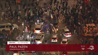 Denver police chief: 'Agitators' causing George Floyd protest to escalate