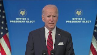 President-elect Joe Biden delivers remarks on his COVID-19 vaccination plan